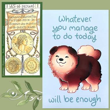 Tarot of the Master and Thera-Pets Emotional Support Animal Cards