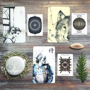 Archeo Personal Archetype Cards and E D Jasbeck Non-Binary Tarot