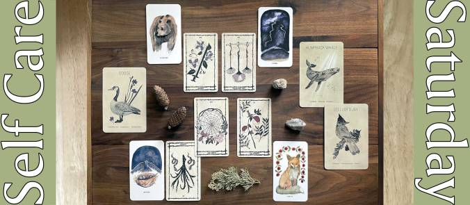 Ophidia Rosa Botanical Tarot, Roots & Wings Oracle, and Messengers of the Great Bear Oracle