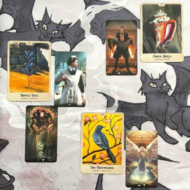 Southern Gothic Oracle and Tarot of Haunted House