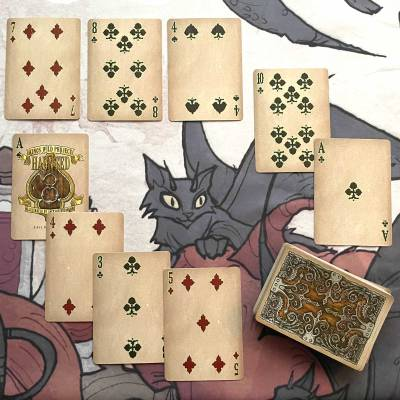 Cartomancy with the Haunted Playing Cards