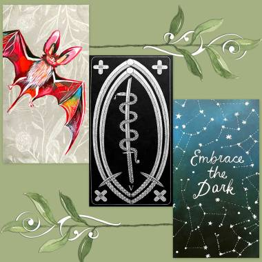 Le Tarot de L'étoile Cachée and How to Be a Wildflower Deck