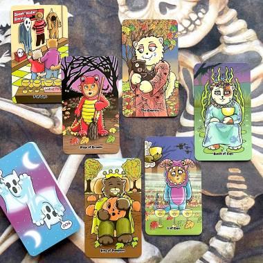 Spooky Cats Tarot