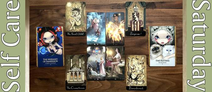 Tarot of Haunted House, Abandoned Oracle, Oracle of the Shapeshifters