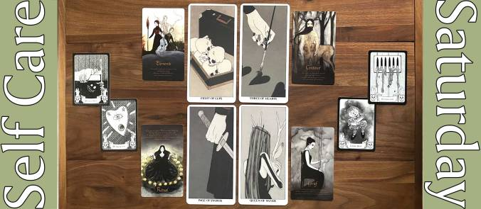 Mio Im's Tarot, Season of the Witch Samhain Oracle, This Deck Is Haunted Oracle